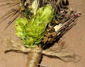 Country Style Hop Boutonniere
