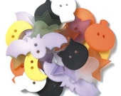 Lil Spooks Halloween Shaped Buttons by Doodlebug Design Inc