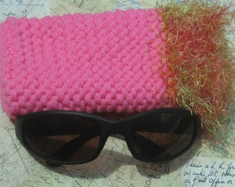 SALE!!!   Painfully Pink Sunglass Case