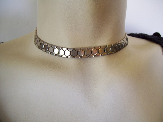 RESERVED FOR IRINA mid-century Trifari choker - style necklace