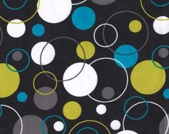 Hoopla Dot in Lagoon by Michael Miller Fabrics - 1 Yard