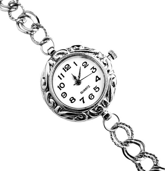 Christmas Gift - Holiday Pick - Silver Quartz Bracelet Watch (Get 12% OFF with COUPON CODE)