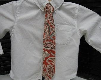 Paisly Boys Necktie