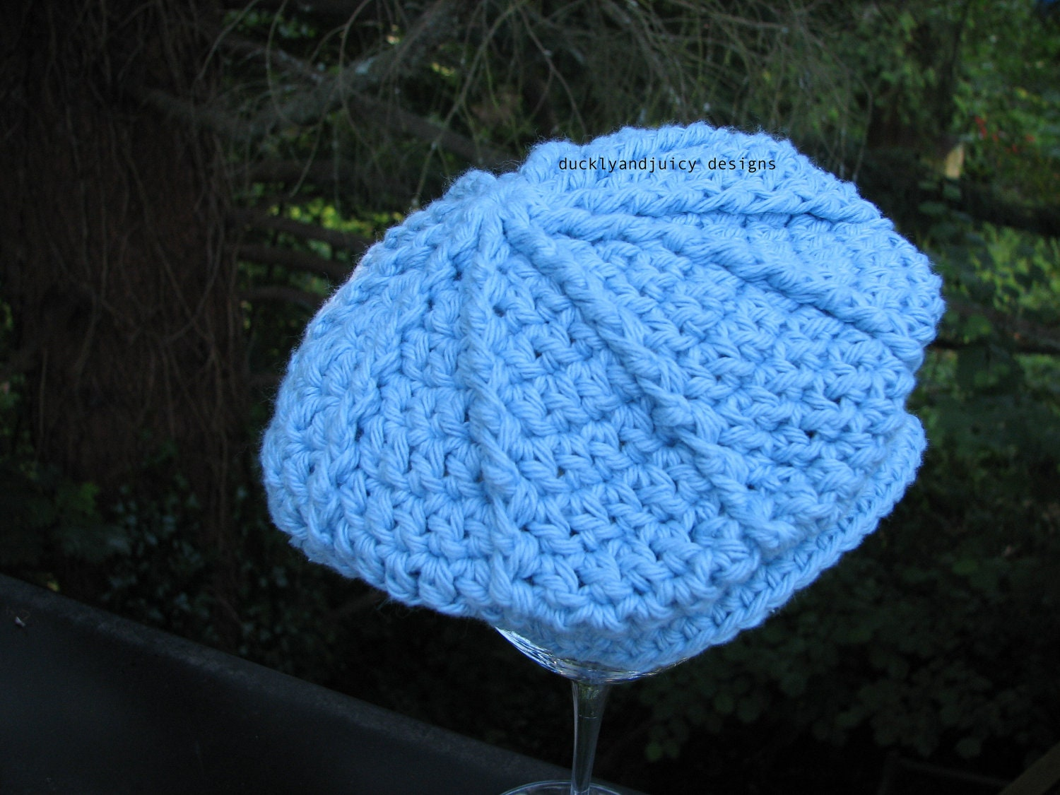 Baby Golf Hat Crochet Baby Hat Driver Cap by ducklyandjuicy