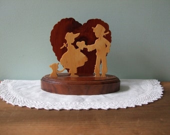 Country Wedding Cake Topper or Decoration