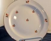 Cunningham & Pickett Cardinal Salad Plates, Nautilus, dinnerware, replacement, wall decor