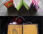 Mini Halloween book - OOAK (1)