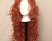 Brave's Merida cosplay wig