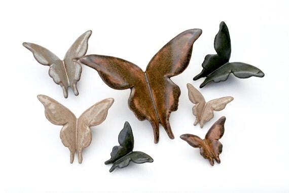 Wall Butterflies - Leather