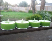 Lemongrass Sage Soy Tea Light Candles