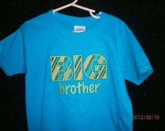 Big Sister shirt, Little Sister shirt, Big Brother shirt, Little Brother shirt, Middle Sister shirt, Middle Brother shirt, siblings shirts