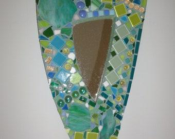 Mosaic  Hanging Mirror