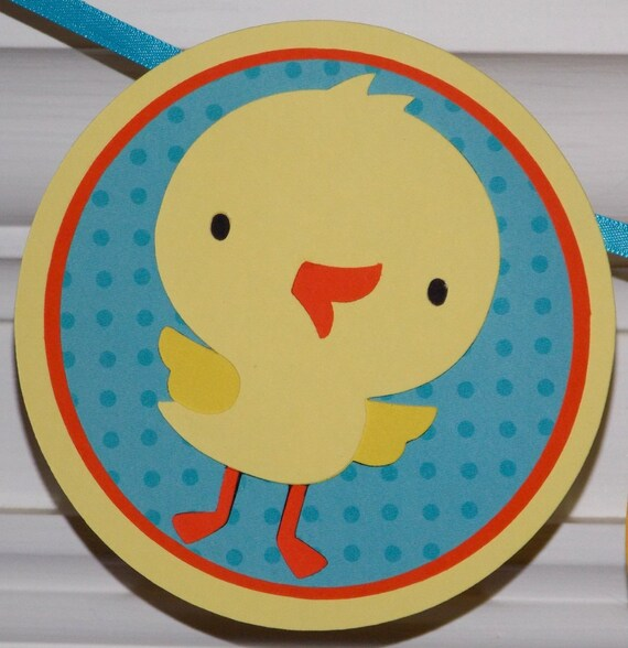 """Duck """"Waddle It Be"""" Baby Shower Banner ... READY TO SHIP ... Yellow Blue polka dots  ... gender reveal ... adjustable"""