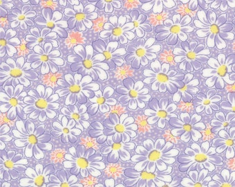30's Playtime - Daisies in Lilac by Chloe's Closet for Moda Fabrics