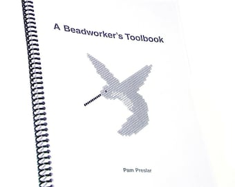 Beadwork Graph Paper for Seed Beads, A Beadworker's Toolbook by Pam Preslar, Hard copy Spiral Bound version, ISBN 978-0-9650282-0-2