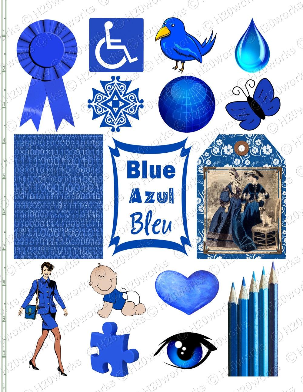 Blue Stuff On 85x11 Sheet Things That on Preschool Name Tag