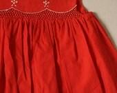 Smocked dress for 12mth old.