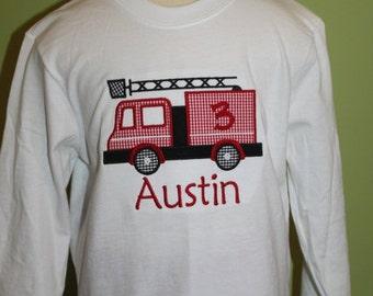 Firetruck shirt