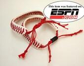 THE ORIGINAL Baseball Bracelet - sliding knot