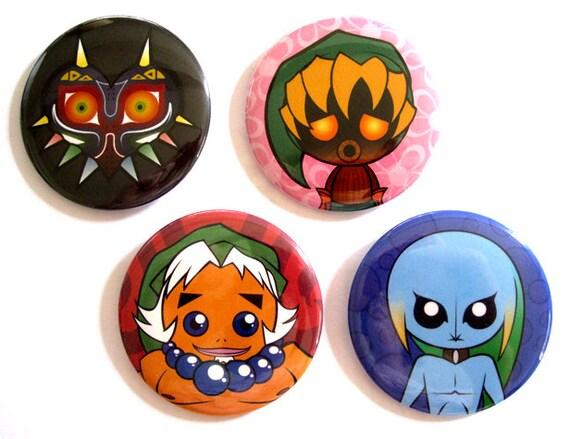 Majora's Mask 2.5 Inch Pins