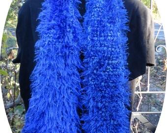 Royal Blue Scarf
