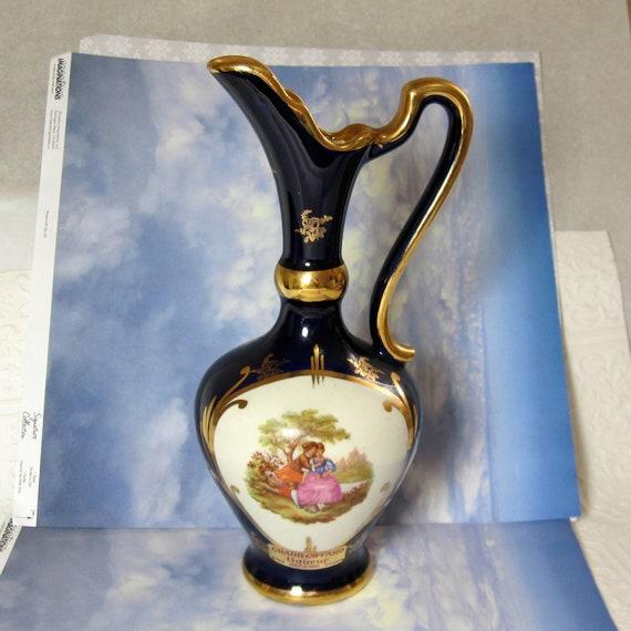 Ceramic Vase Romantic Grand Giffard Liqueur By Fallinloveagain