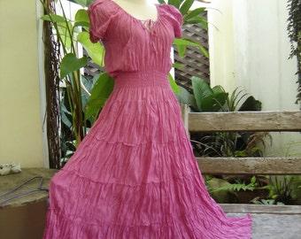 Princess Cotton Dress II - Pink