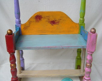 Whimsical Child's Bench