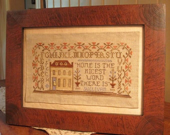 A Family Homestead ~ Cross Stitch Design