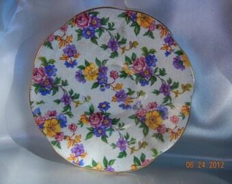 "Vintage Royal ALBERT  Saucer ""ROSINA""Bone China  England"