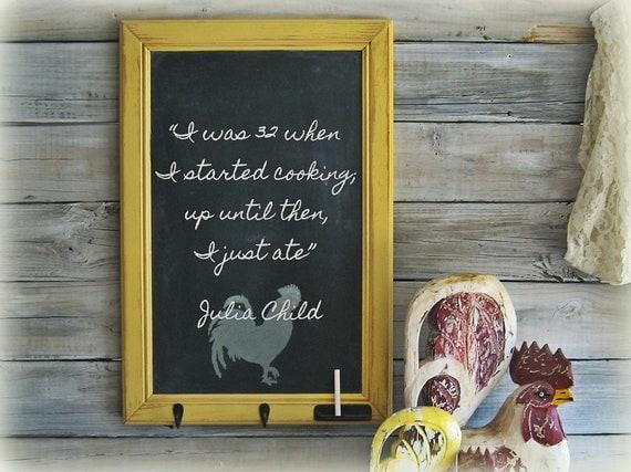 Vintage Kitchen Chalkboard Home Decor Shabby Chic. Shabby