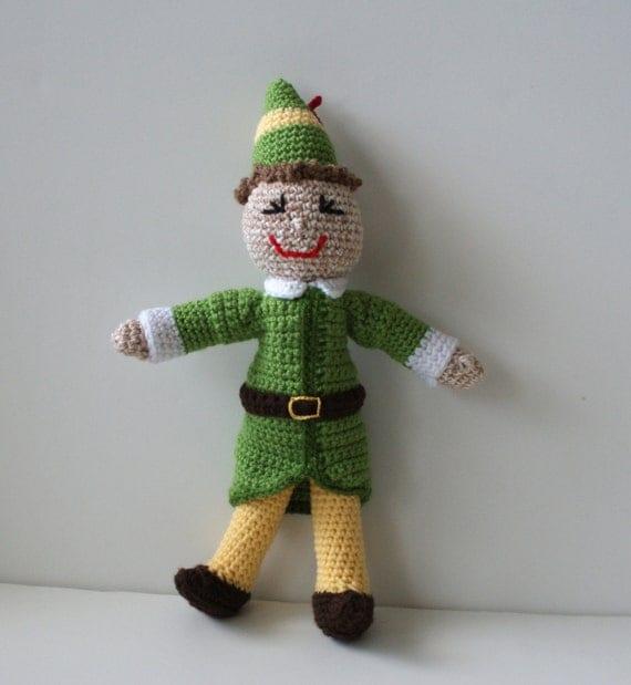 SOLD Buddy the Elf Boy Christmas Doll Amigurumi Crochet Doll