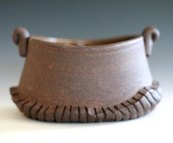 Handmade Ceramic Hostess Bowl