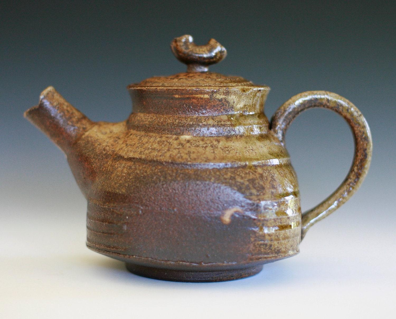 Wood Fired Teapot Handmade Ceramic Teapot Ceramics And