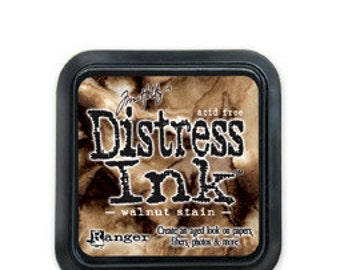 Tim Holtz Distress Ink-Walnut Stain