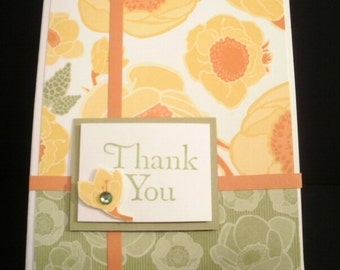 Floral Thank you cards - Box of 10