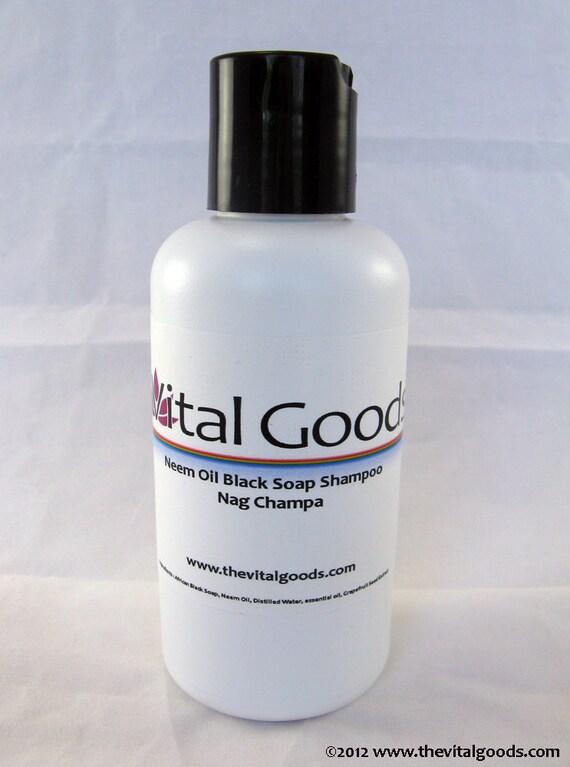 Dreadlock Shampoo Neem Nag Champa Black Soap shampoo 4oz