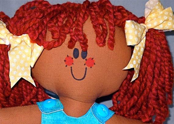 Brown Baby Handmade cloth Redhead Ragdoll
