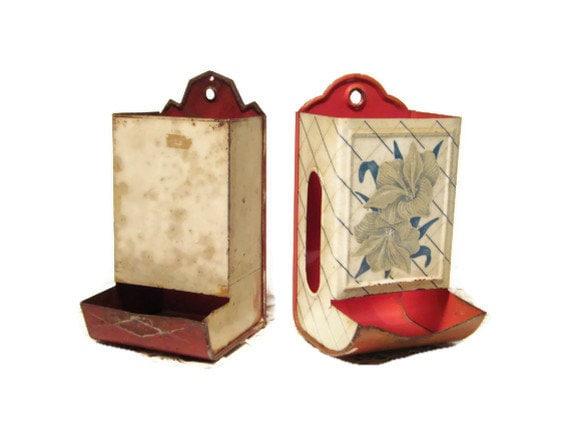 Vintage Kitchen Match Box