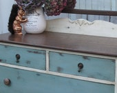 SOLD Antique Dresser with mirror refinished