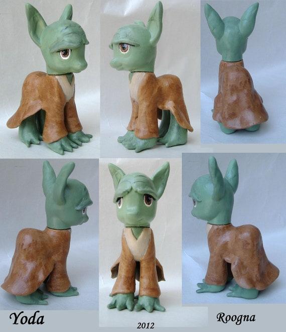 Custom My Little Pony Yoda Star Wars