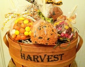FALL Carnival Caramel Apple Gift Basket - Only One Available