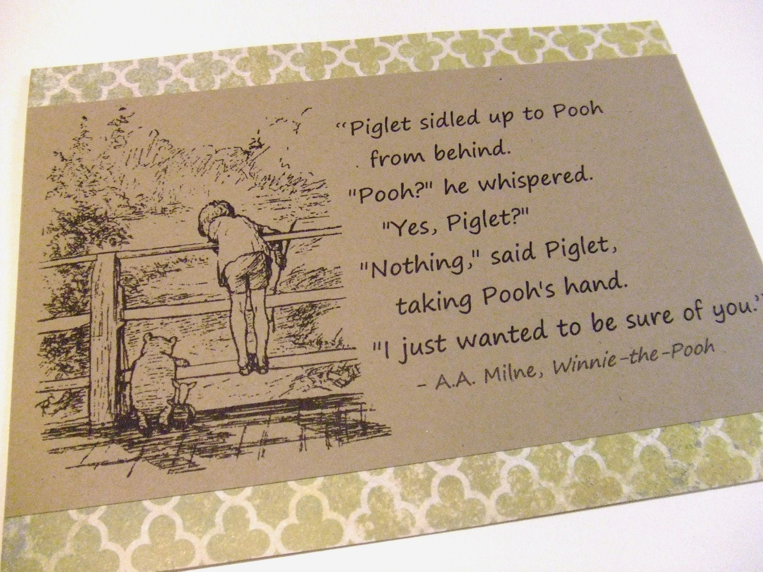 Pooh Quotes About Friendship Friendship Quotes Classic Set Of Classic Winnie The Pooh Quote