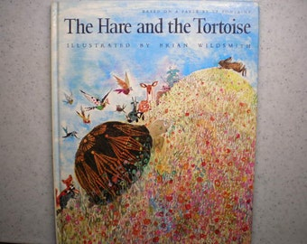 Vintage 1980's Children's Book - The Hare & The Tortoise
