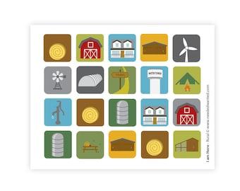Rural (sticker sheet)