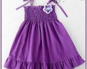 Purple dress for  girls - Girls purple dress - Spring dress - Easter dress - Purple baby dress - purple dress for baby - birthday dress
