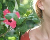 The Meditation Tree - Dangle earrings with tree charm