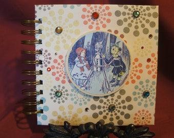 Wizard of Oz - Dorothy Tin Man Scarecrow Journal - Unique
