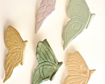 Ceramic Butterfly Pins