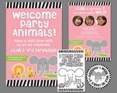 Zoo/Safari Birthday DIY Printable Kit